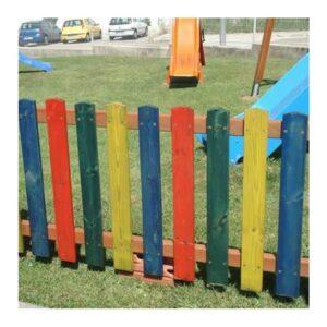 Renkli bahçe çiti C1208