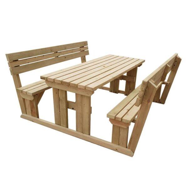 Ahşap Piknik Masası M1215