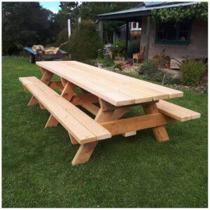 Ahşap Piknik Masası M1222